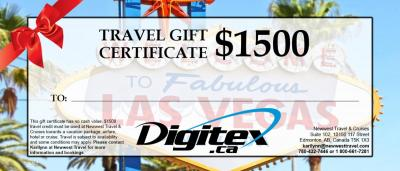 Gift Certificates | Newwest Travel & Cruises